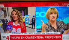 VIDEO  Cathy Barriga afirma que en Maipú habría muerto segunda persona por Coronavirus y Evelyn Matthei cuestiona la información