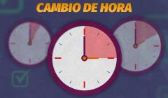 Gobierno confirma fecha de cambio de hora por coronavirus: «Ayudará a quienes salgan de sus casas»