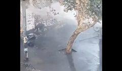 VIDEO| Indignante: Carabineros utiliza el carro lanza aguas para atacar a una persona en situación de calle